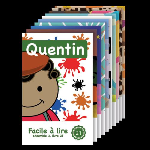Série Introduction 3 : livres 21 à 30 - Facile à lire - Apprendre à lire
