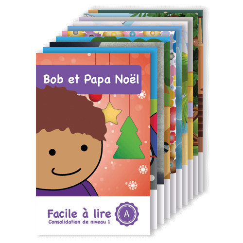 Série Consolidation 1 : 10 livres - Facile à lire - Apprendre à lire