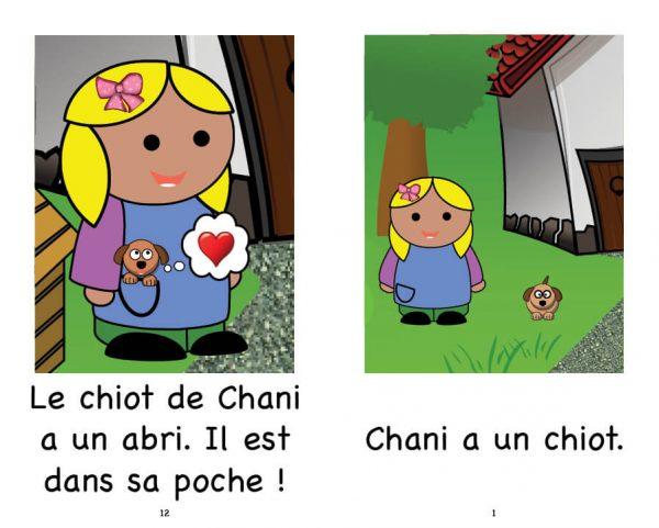 Extrait Chanie