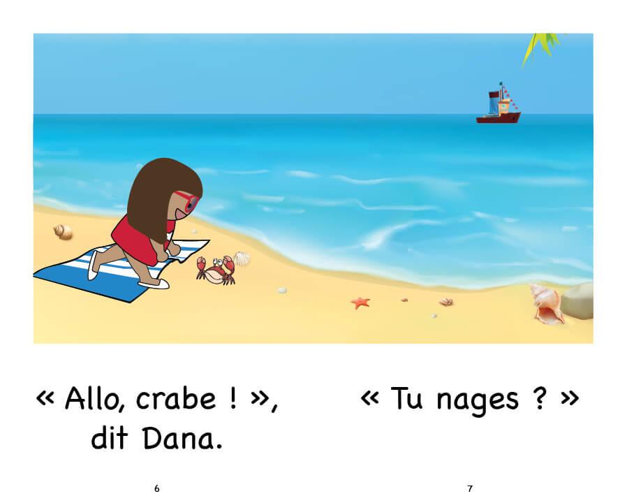 Extrait Dana et le crabe