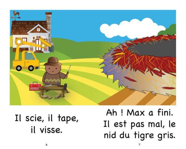 Extrait Max et le tigre