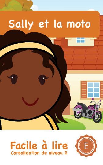 Page couverture de Sally et la moto