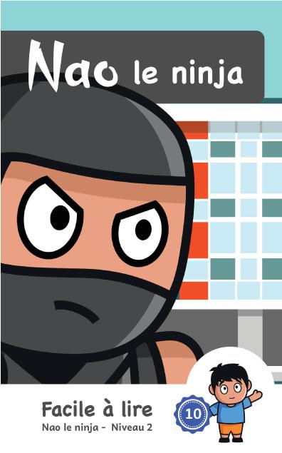 Page couverture de Nao le ninja
