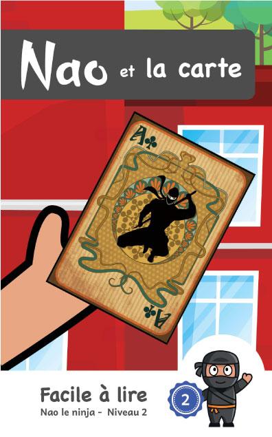 Page couverture de Nao et la carte