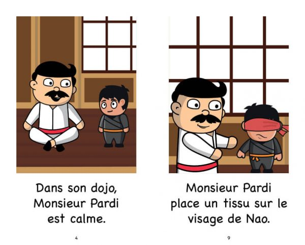 Extrait de Nao et Monsieur Pardi