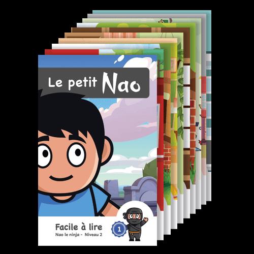 Série Nao le ninja: 10 livres