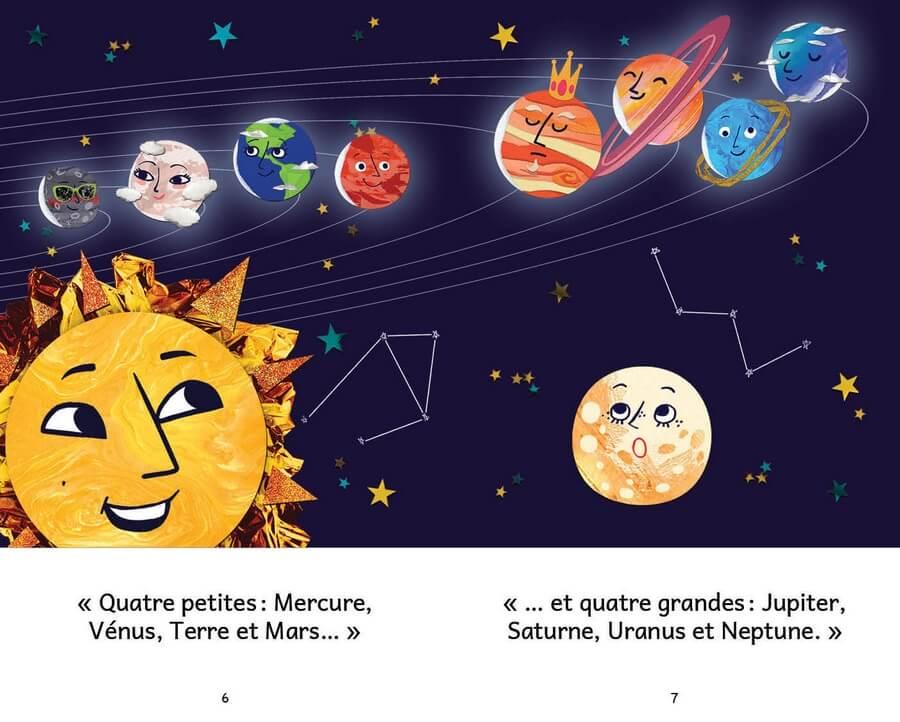 Extrait de Luna la petite lune, page 6-7