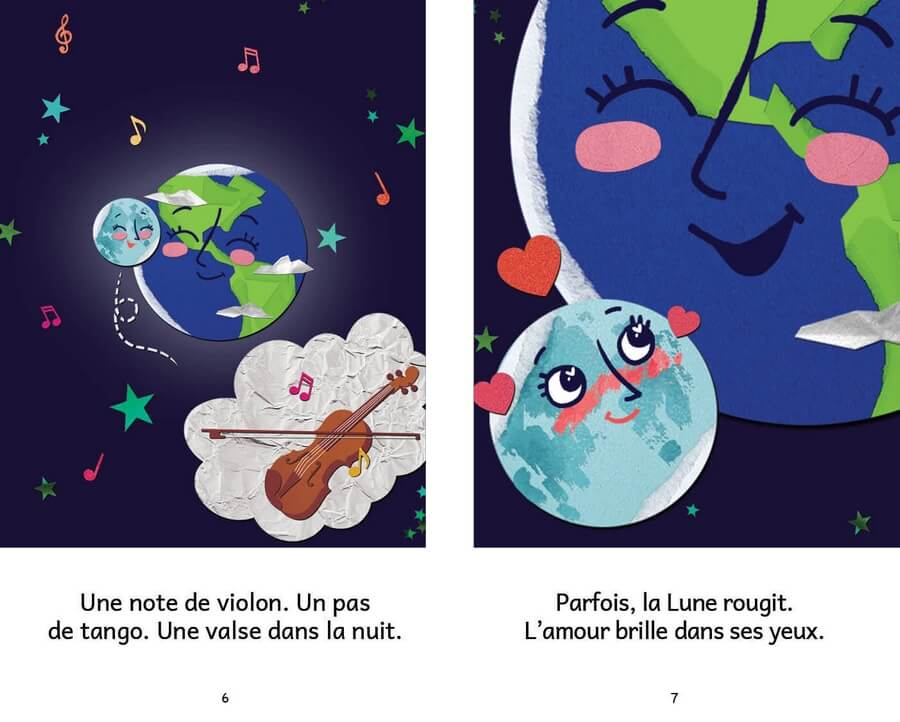 Extrait de Luna et la Terre
