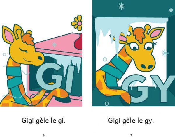 Gigi et le G - extrait